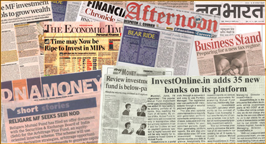 News Articles by Abhinav Angirish, Abchlor Investment Advisors